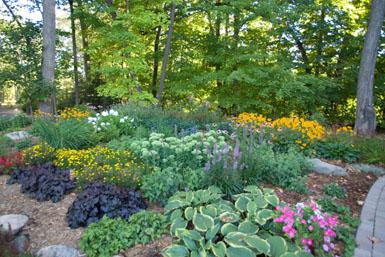 Image: Tier One Landscape garden.