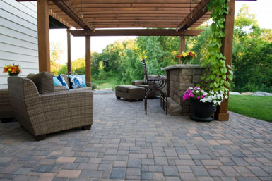 Image: Tier One Landscape Patio.